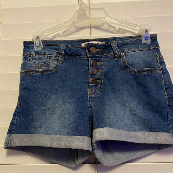 Encore Jeans Pants - Blue Jean Shorts
